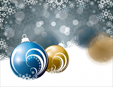 Christmas Background Stock Vector - 14987532