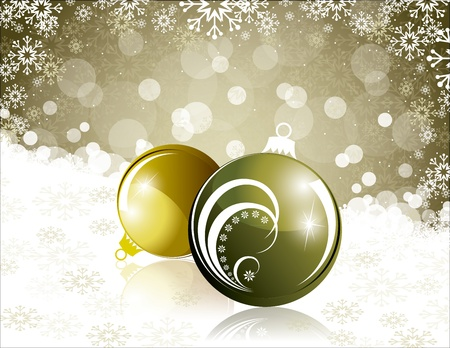 Christmas Background  Abstract Illustration Stock Vector - 14987582