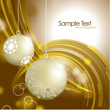 happy new year text: Christmas Background  Abstract Illustration  Illustration
