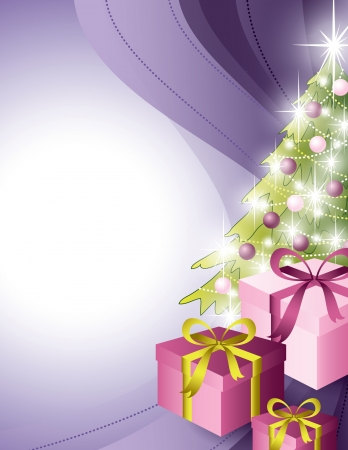 mirrow: Christmas Background  Abstract Illustration  Illustration