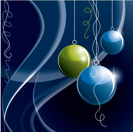 Christmas Background  Abstract Illustration Stock Vector - 15035747