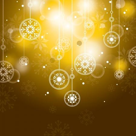 Kerst Achtergrond Abstracte Illustratie Stock Illustratie