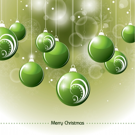Christmas Background  Abstract Illustration Stock Vector - 15035954