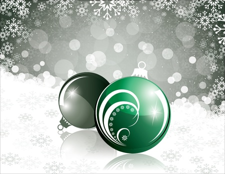 Christmas Background  Abstract Illustration Stock Vector - 15035956