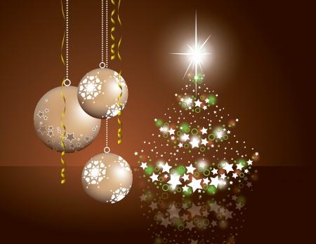 mirrow: Christmas Background  Eps10 Format  Illustration
