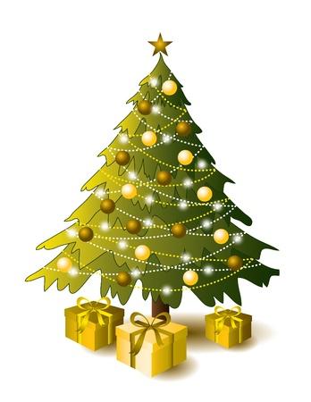 Fondo De Navidad Eps10 Formato Foto de archivo - 15392552