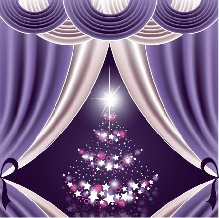 Christmas Background  Eps10 Format 免版税图像 - 15392587