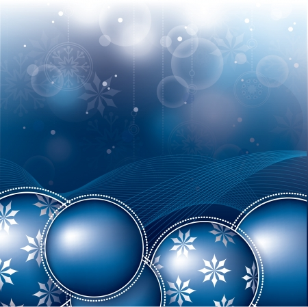 Christmas Background  Eps10 Format  矢量图像
