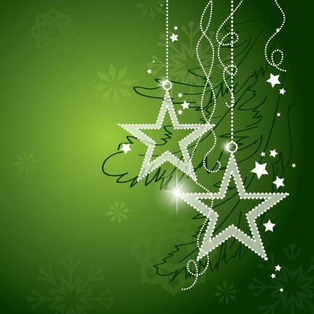Christmas Background Eps10 Format