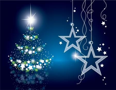 クリスマスの背景 Eps10 形式