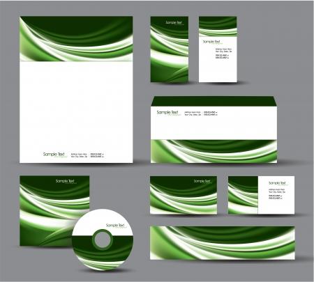 Modern Identity Package   Design   Stock Vector - 17628132