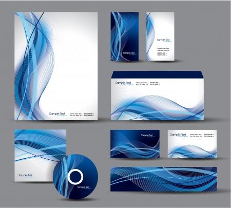 Modern Identity Package   Design Stock Vector - 17628118