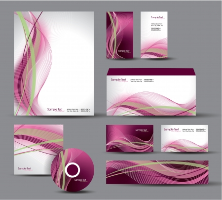 Modern Identity Package   Design   Illustration