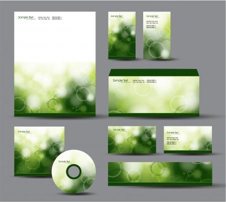 Modern Identity Package   Design Stock Vector - 17628115