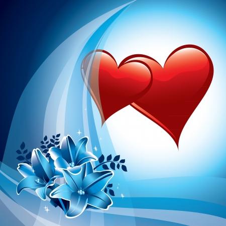 Valentine Day Background Stock Vector - 17628104