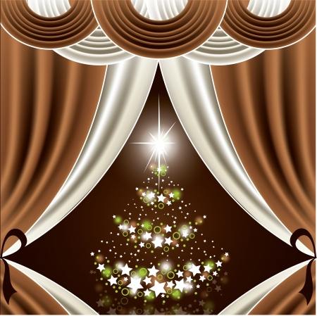 Christmas Background Stock Vector - 21711396