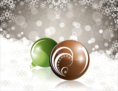 mirrow: Christmas Background    Illustration