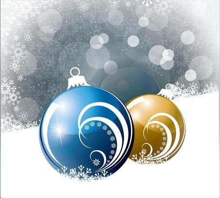reflection: Christmas Background