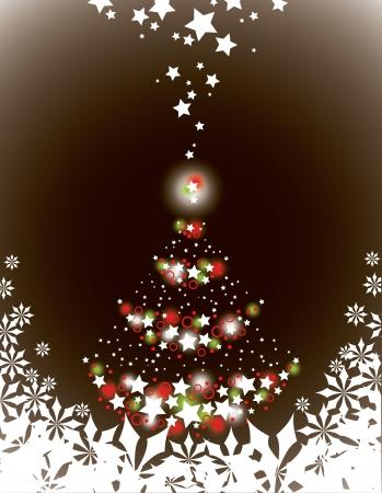 Christmas Background  Design  Stock Illustratie