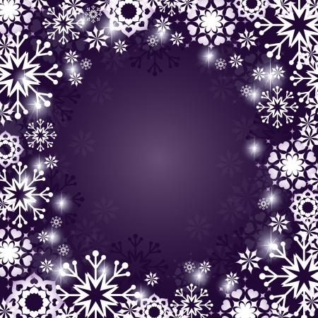 crystallization: Christmas Background  Design  Illustration