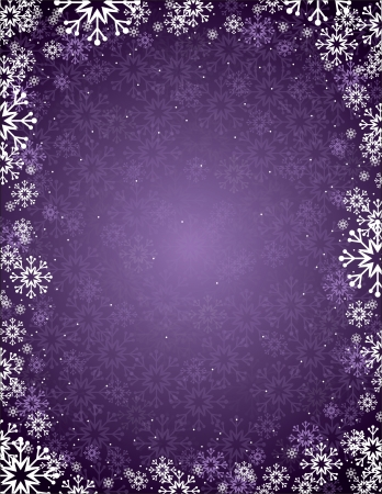 silver frame: Christmas Background