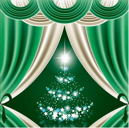 Christmas Background Stock Vector - 22318057