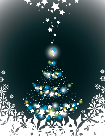 Christmas Background  Vector Illustration  Ilustrace