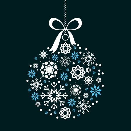 Christmas Background  Vector Illustration  Иллюстрация