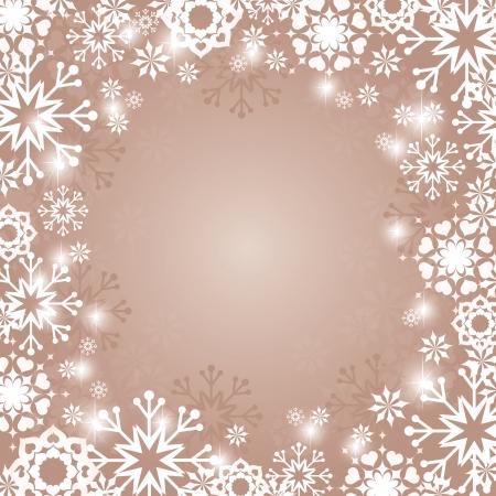 Christmas Background  Vector Illustration   イラスト・ベクター素材