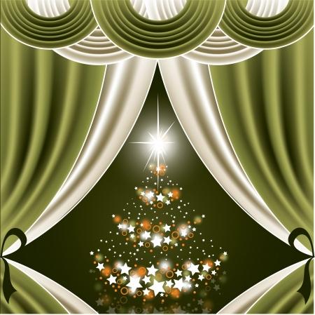 Christmas Background  Vector Illustration  Stock Vector - 22589044