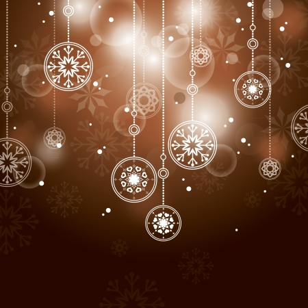 Christmas Background  Vector Illustration   イラスト・ベクター素材
