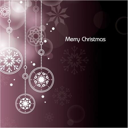 Christmas Background  Vector Illustration  Ilustrace