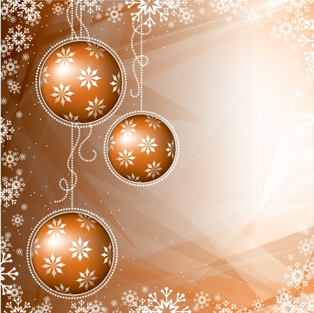 Christmas Background  Vector Illustration Stock Vector - 22589103