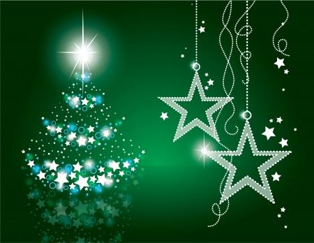 Christmas Background  Vector Illustration  Illusztráció