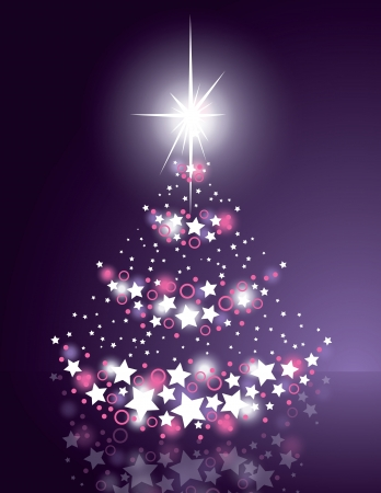 mirrow: Christmas Background  Vector Illustration  Illustration