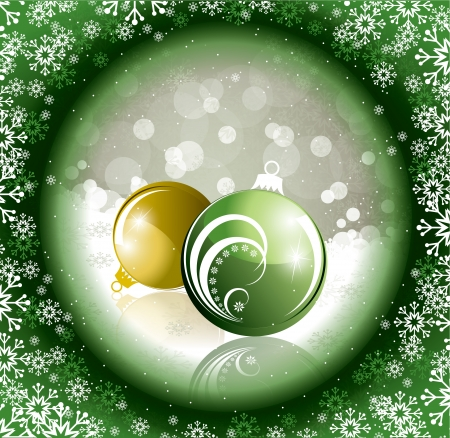 Christmas Background Stock Vector - 22589214
