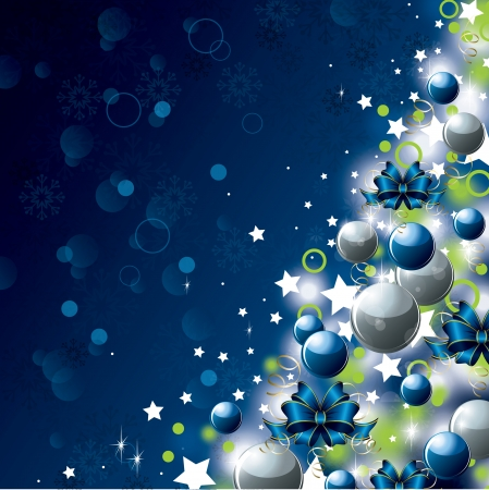 Christmas Background Stock Vector - 23533876