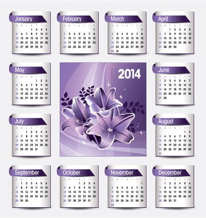 florish: 2014 Calendar