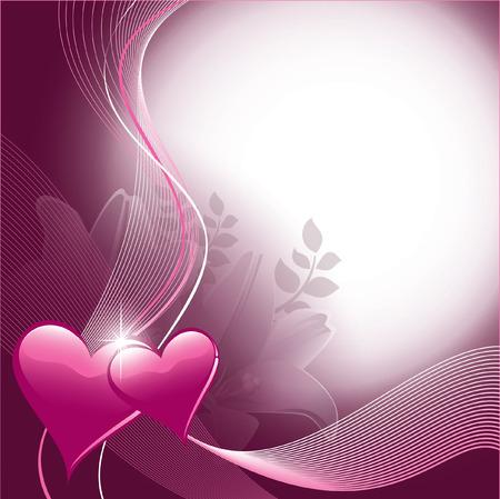 Valentine s Day Background Illustration