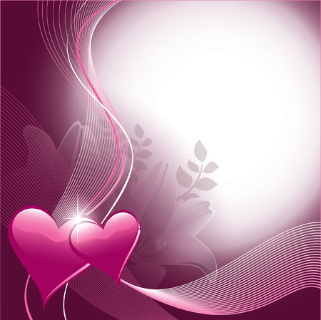 Valentine s Day Background Banco de Imagens - 25629791