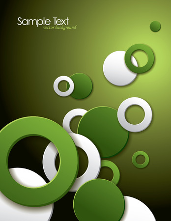 abstract: Vector Background  Abstract Circles   Illustration