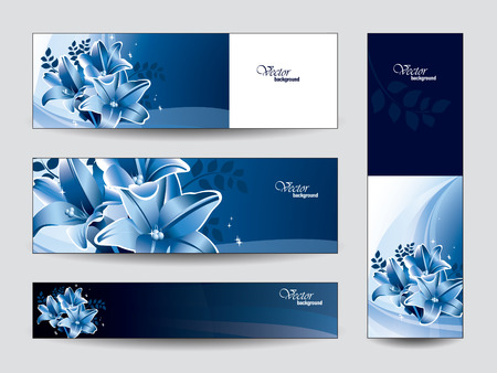 Set of Vector Banners   Vector