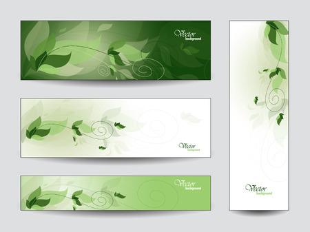 Set of Vector Banners  Vector
