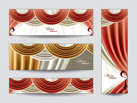 manege: Vector Banners