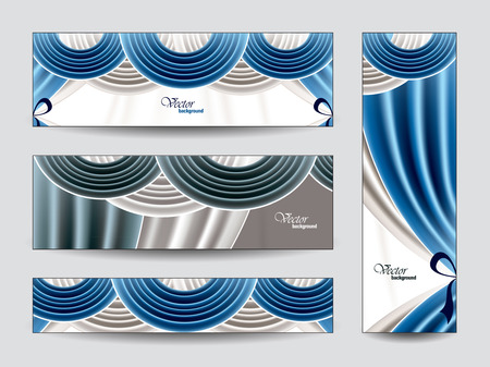 manege: Set of Banners  Illustration