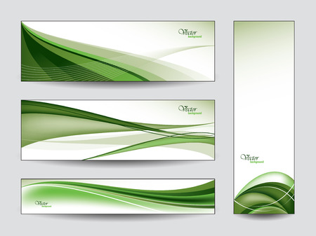Abstract Vector Banners  Eps10