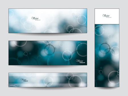 Abstract Vector Banners  Ilustrace