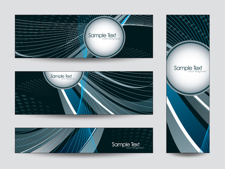shere: Abstract Vector Banners  Illustration