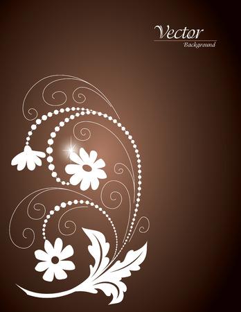 florish: Floral Background Illustration