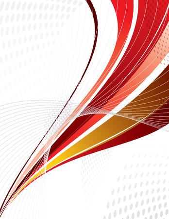 bends: Vector Swoosh. Abstract Design.